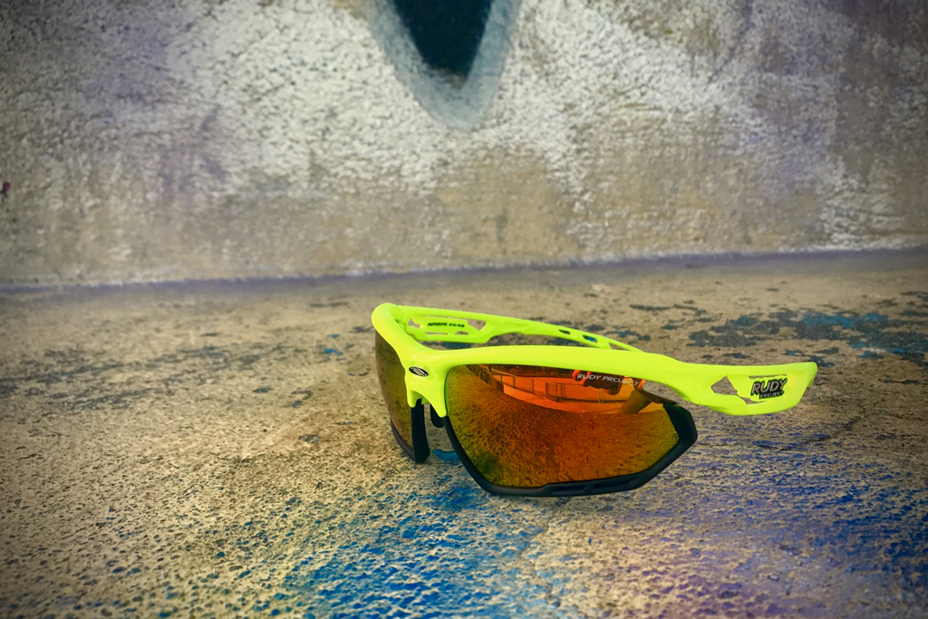 Rudy Project Fotonyk Yellow Fluo Gloss