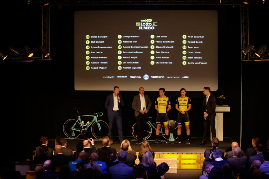 Bianchi, uno más del equipo World Tour Lotto Jumbo para 2018