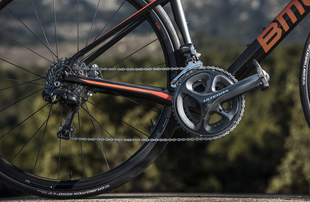 BMC Roadmachine 01 - Detalle de grupo