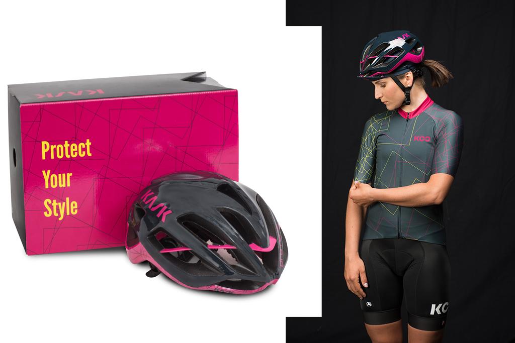 Protect Your Style: el primer producto de Kask enfocado al ciclismo femenino