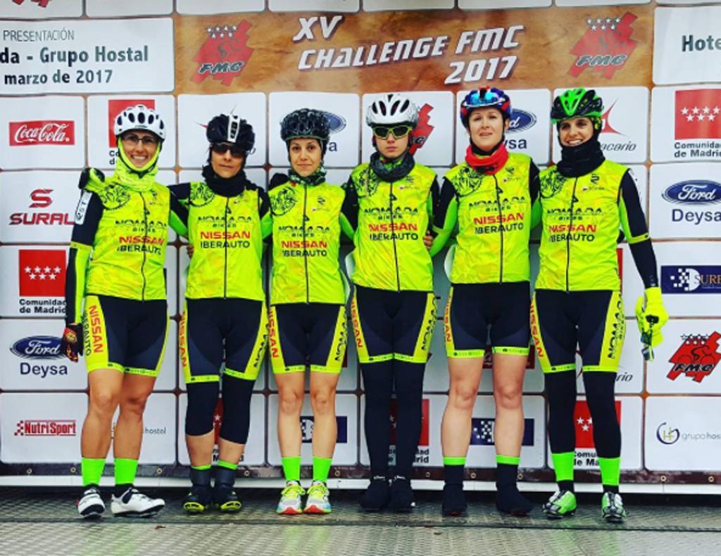 El equipo de ciclismo femenino n mada nissan iberauto for Equipos de ciclismo