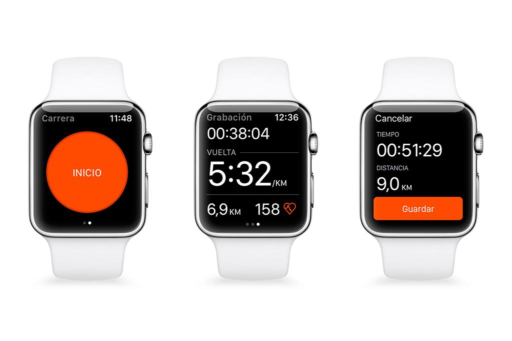 Strava convierte tu smart watch en un ciclocomputador