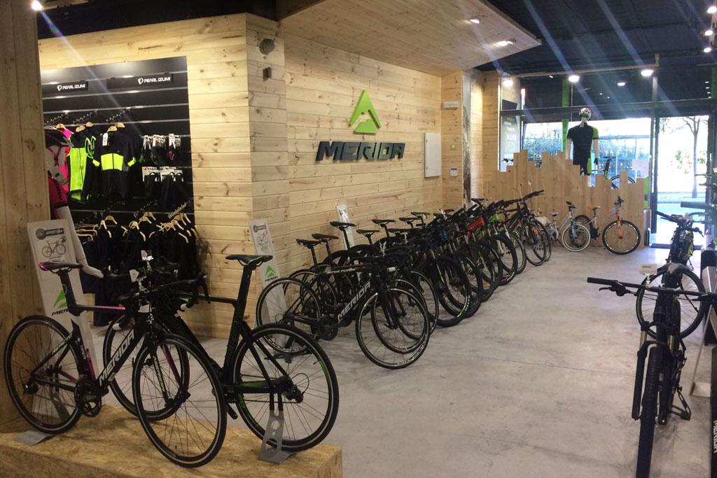 Merida Bikes CdC, la nueva casa del ciclismo de Merida en Madrid